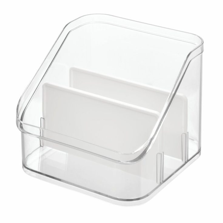 Clear divider