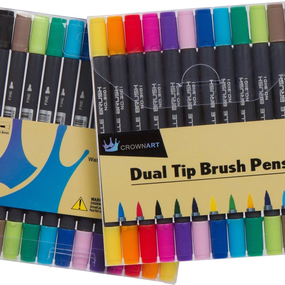 The 5 Best Brush Tip Markers & Marker Sets | MostCraft
