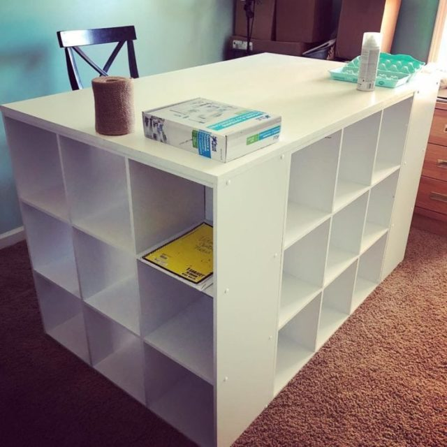 Cubed Craft Table