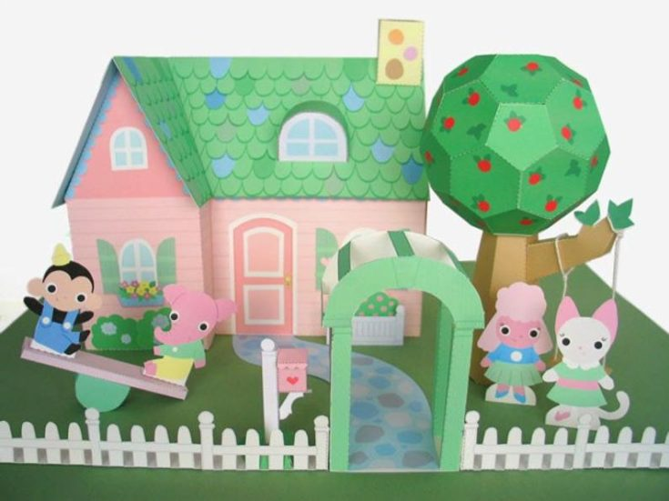 Cut and Fold 3D Pictures