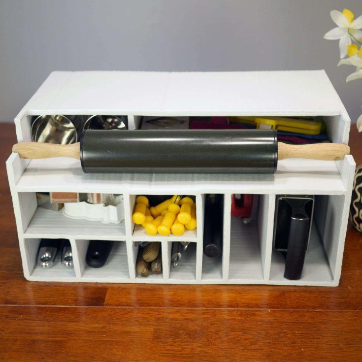 DIY Cardboard storage