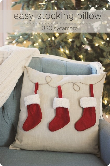 320 Sycamore Easy Stocking Pillow