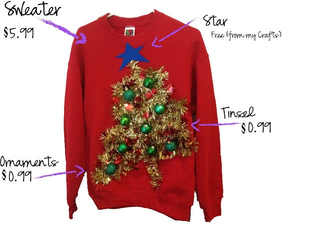 26 DIY Ugly Christmas Sweaters That Prove You're Awesome