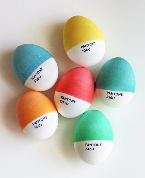 DIY Pantone Eggs