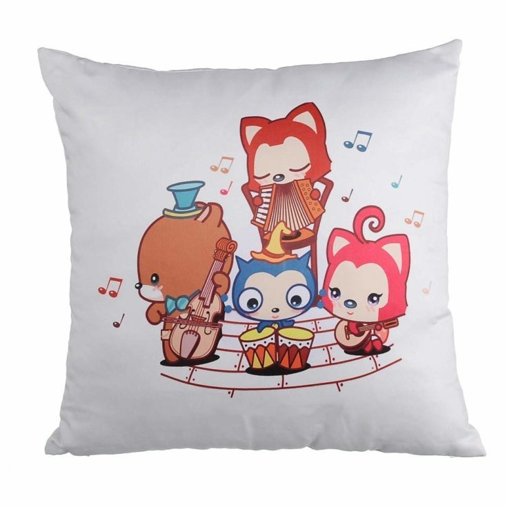 DIY Printing Plain White 3D Sublimation Cushion Cover throw pillow covers For Heat Press Printing