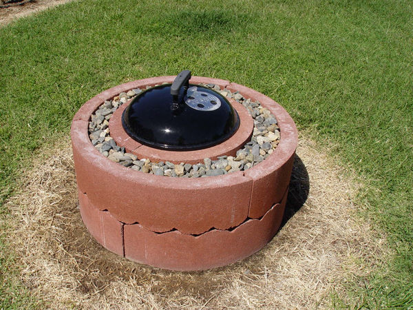 Funky but Practical Fire Pit