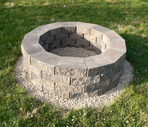 Deep Stone Fire Pit