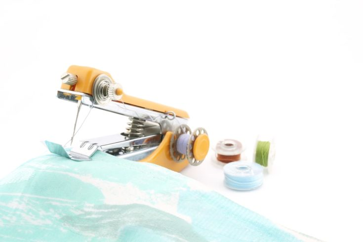 Sewing handheld, portable and easy to use repair get even more creative.