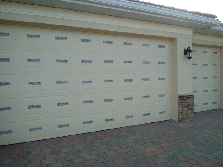 Easy Mausoleum Crypt for Garage Door