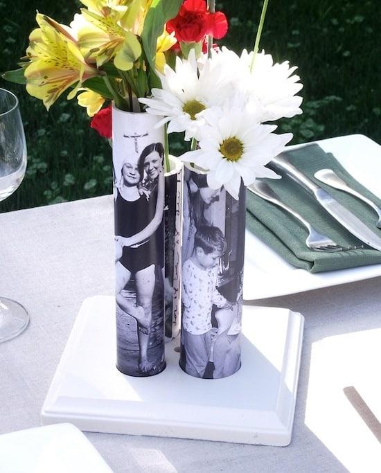 Flower Vases Decoupage