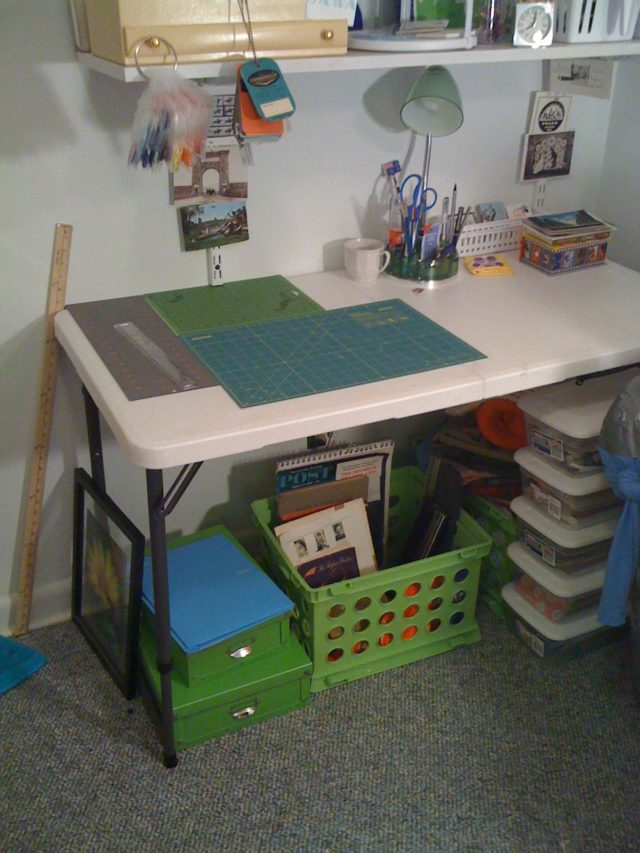 Folding Table Craft Table