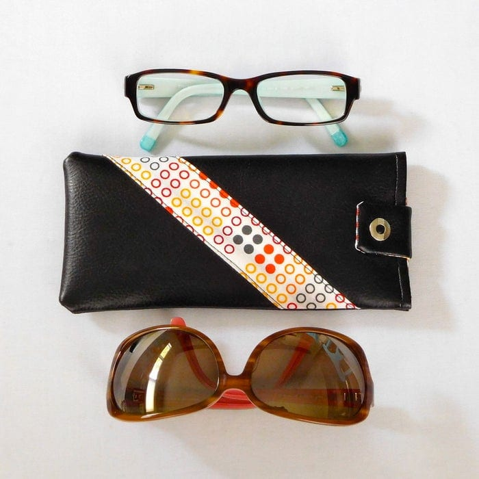 black case with 2 eye glasses