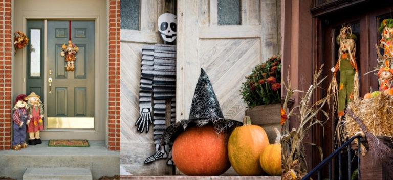 35 Clever Halloween Monster Door Ideas