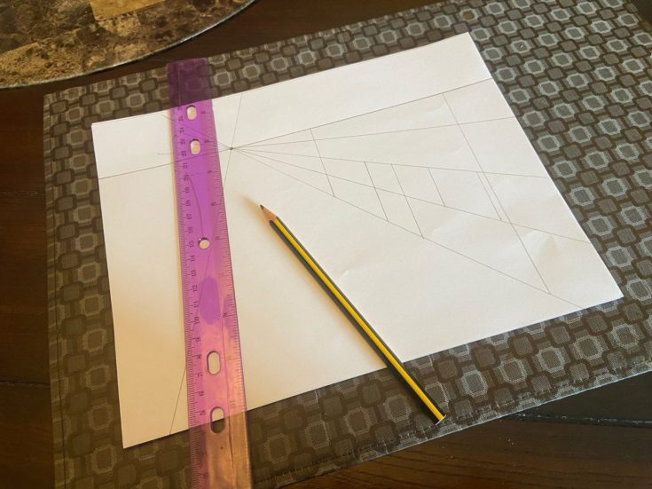 Drawn more lines that will help with the finer details.