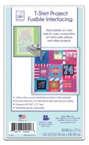 June Tailor T-Shirt Project Fusible Interfacing