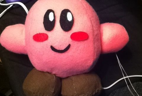 A very cute pink Sew Kirby
