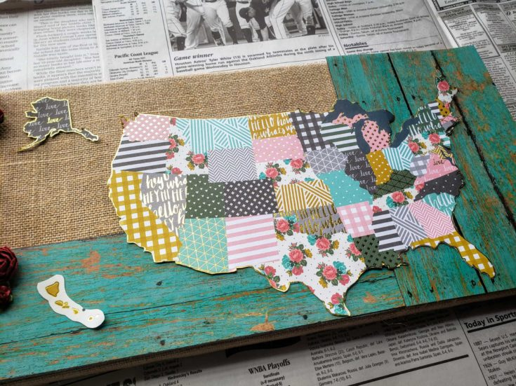 Lay Out Your Design for DIY decoupage