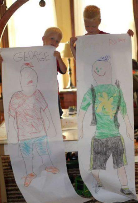 Life Sized Self-Portraits