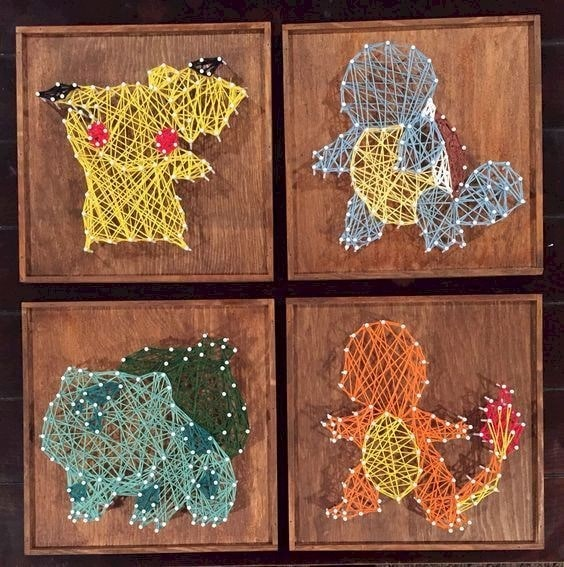 Little Animals string art