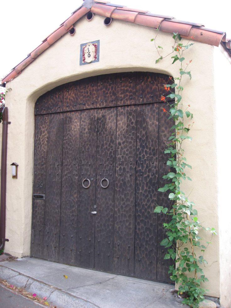 Medieval Theme Garage Door
