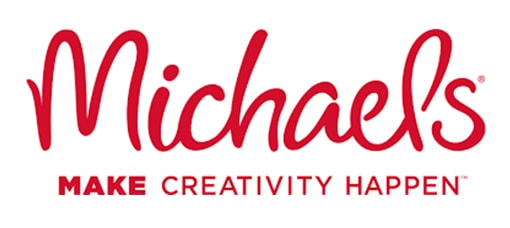 Michael's Logo isolated in white background