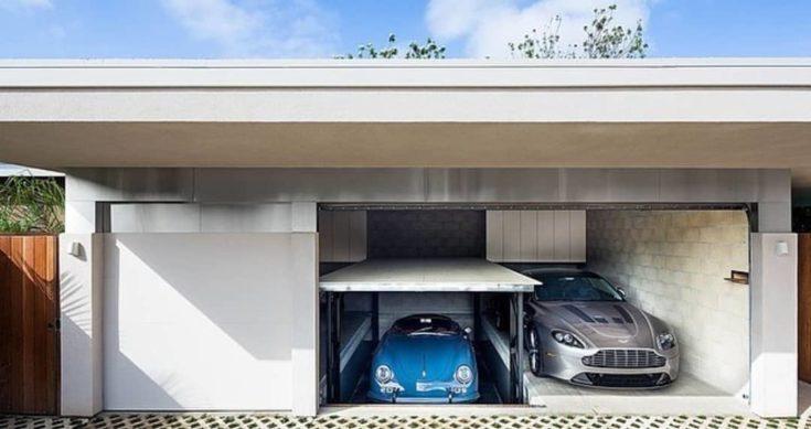 Modern Metal Design Garage