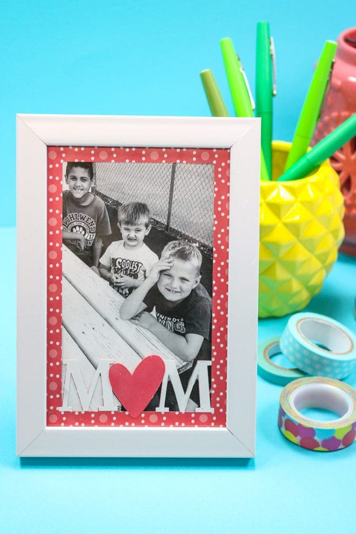 Mother's Day Photo Frame Insert