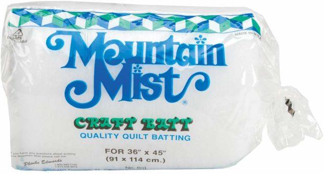 Mountain Mist Polyester Quilt Batting