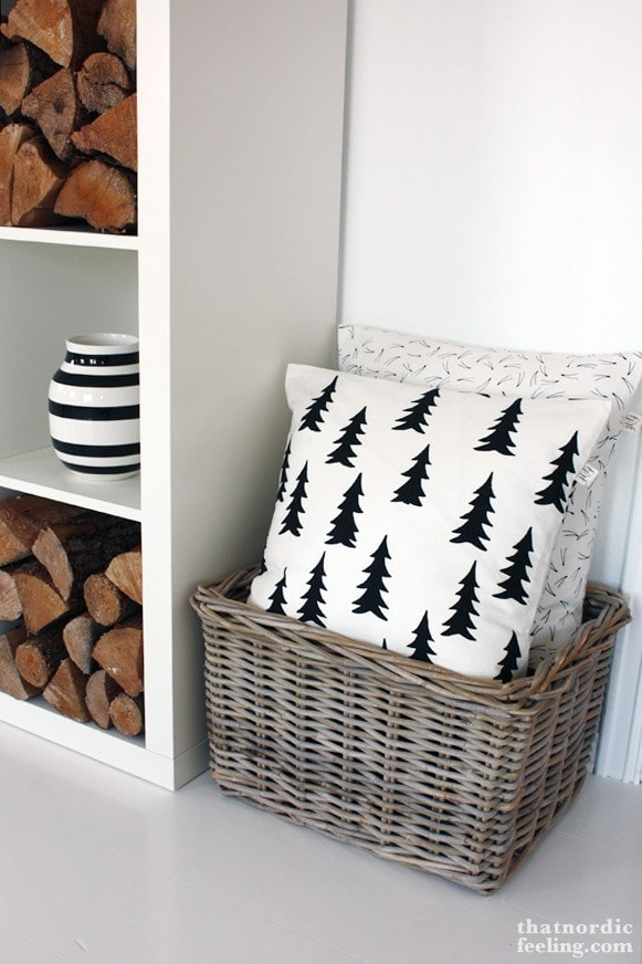 That Nordic Feeling Tree Pillow