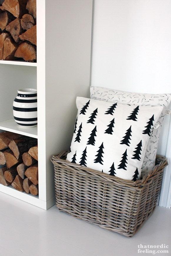 That Nordic Feeling Tree Pillow