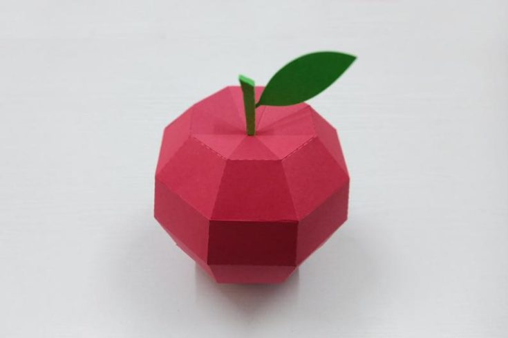 Paper Folding Apples