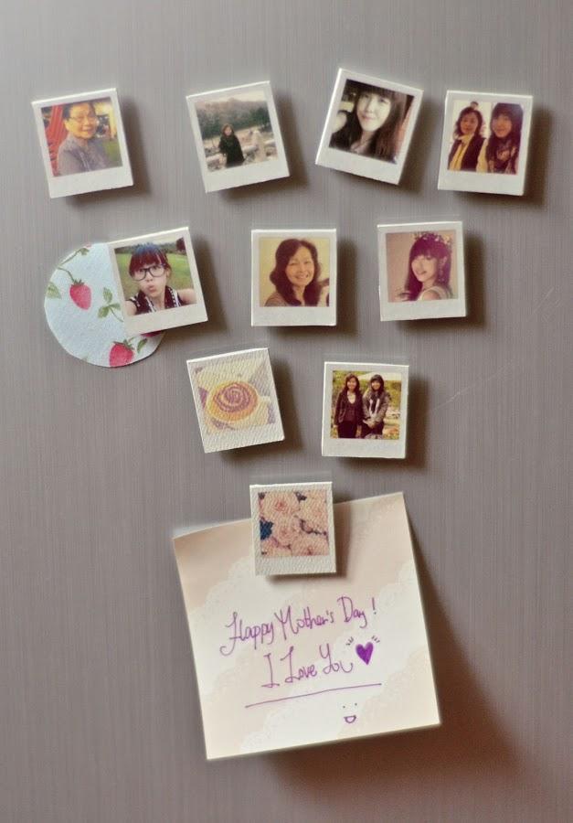 Polaroid Fridge Magnets