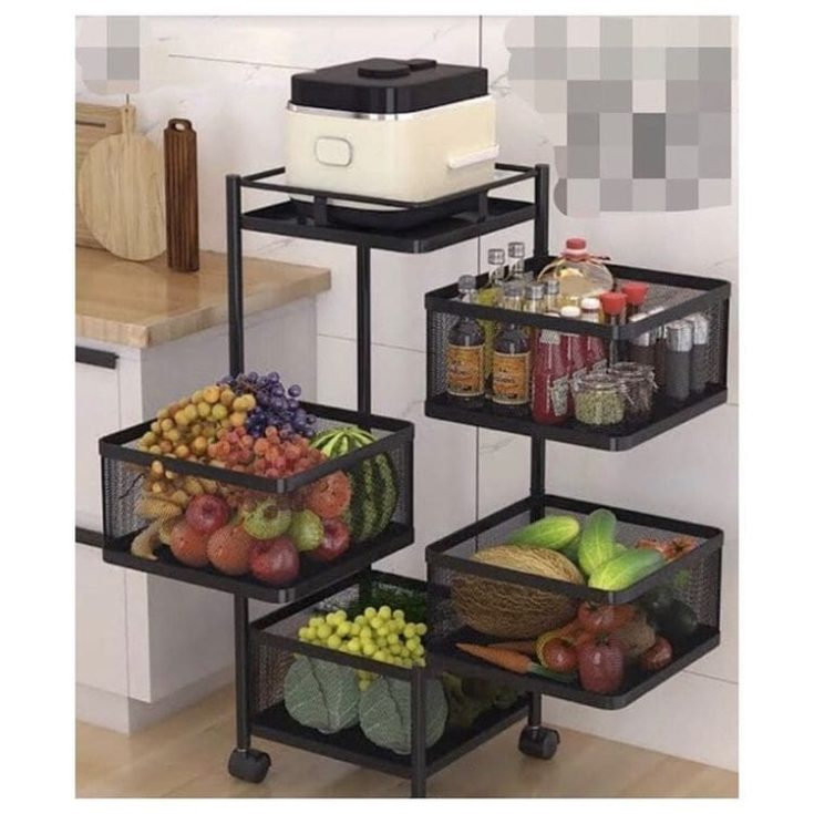 Produce Cart for kitchen