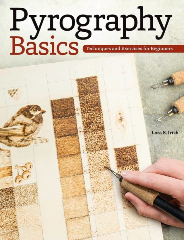 Pyrography Basics Techniques and Exercises for Beginners (Fox Chapel Publishing) Skill-Building