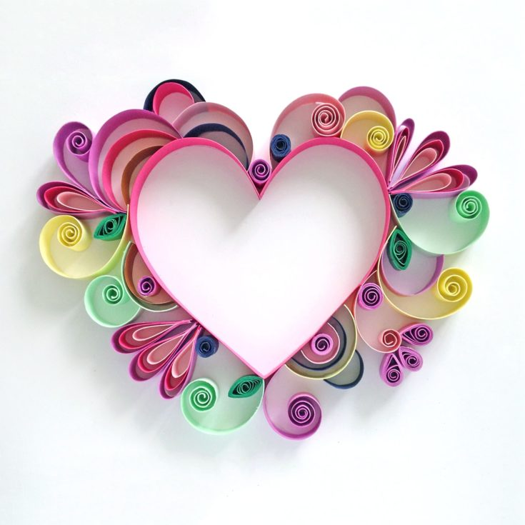 Quilling Craft for Mother's Day