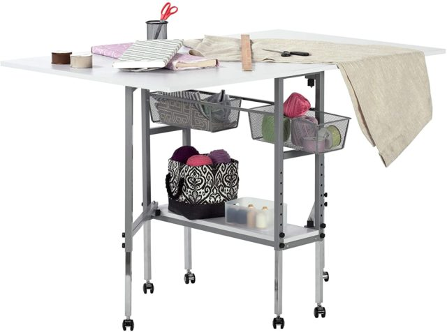 Rolling Craft Table