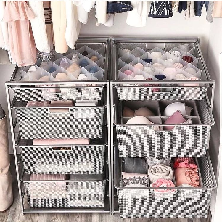 Rolling Drawers for clothes