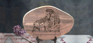 Cover Image: 11 Sweet and Thoughtful Wood Burning Wedding Gifts