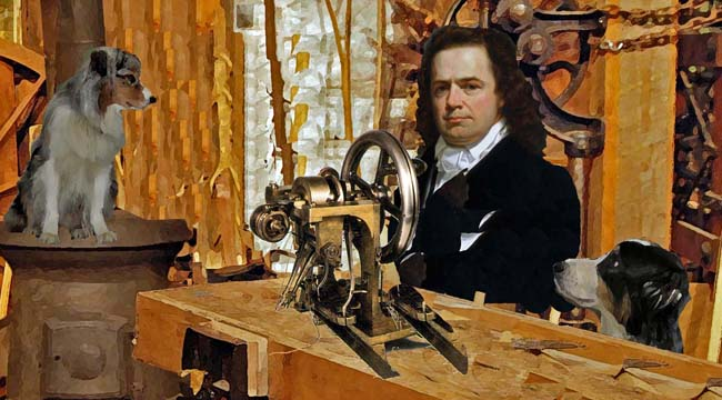 Sewing Machine, Inventor, and Elias Howe