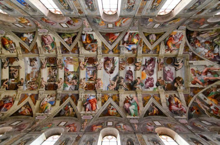 Sistine Chapel ceiling, Vatican, Rome