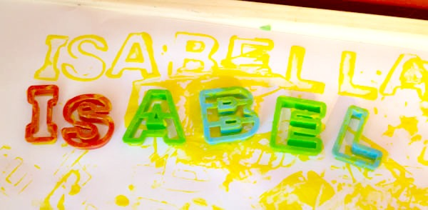 Stencil Name Activities