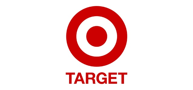 Target Logo isolated in white background