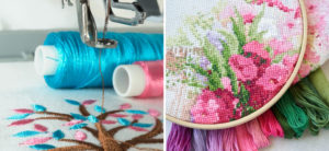 Cover Image: Embroidery vs Cross Stitch: The Differences Between Thread Art