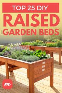 Top 25 DIY Raised Garden Beds