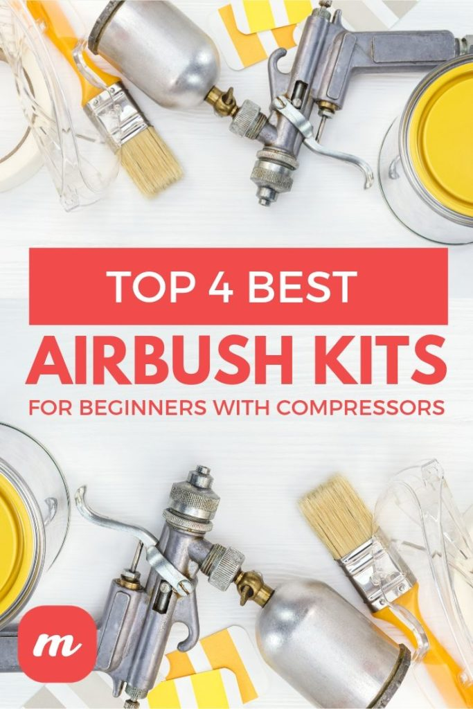 Top 4 Best Airbush Kits For Beginners With Compressors
