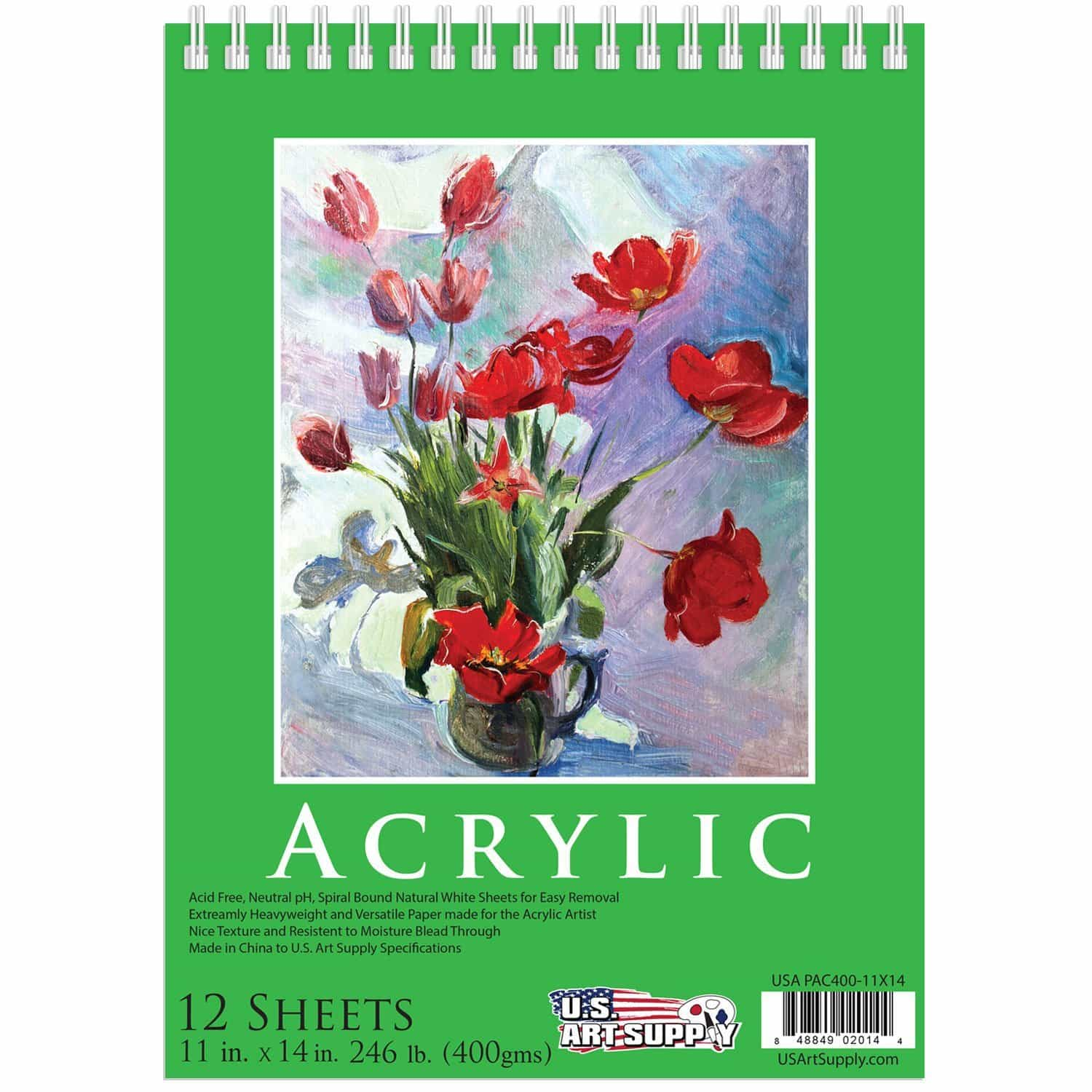 The Best Paper Products For Acrylic Painting Mostcraft