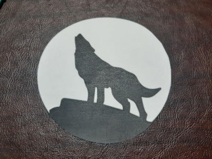 wolf pattern design