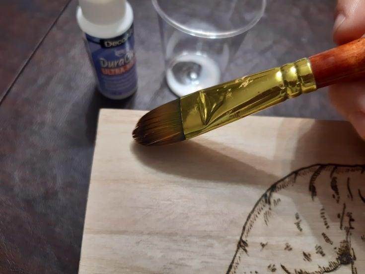 applying a wood finish