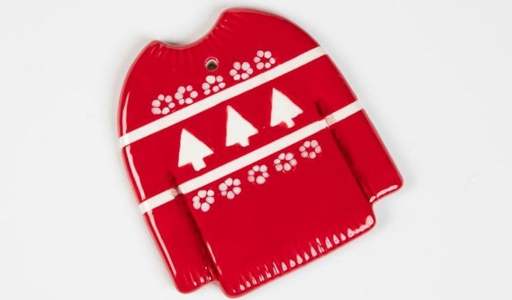 red ugly sweater