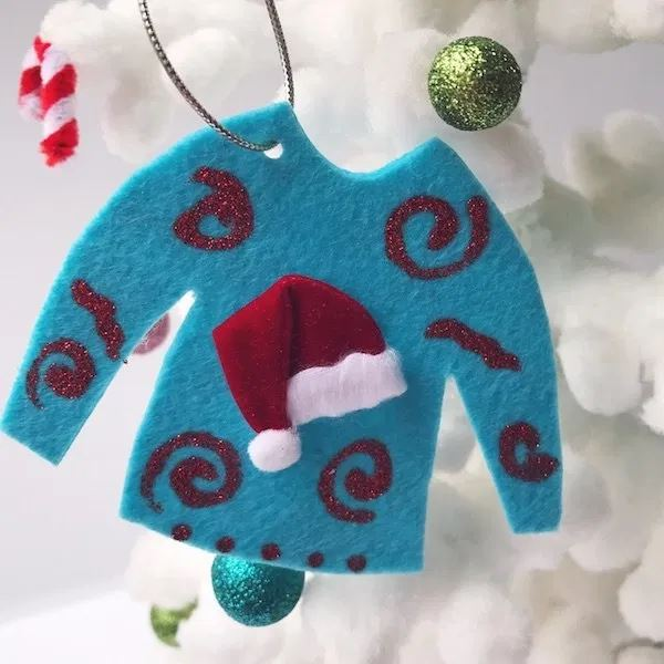blue ugly sweater